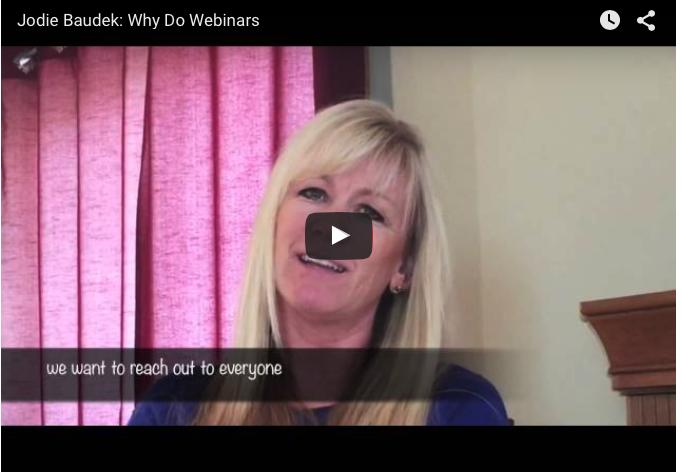 Why Do Webinars