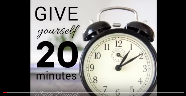 The Importance of 20 Minutes