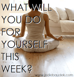 What Will You Do For Yourself?